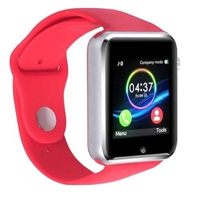 Worry Free Gadgets G10-SWATCH-RED G10 Smartwatch for Android/iOS Bluetooth - Red