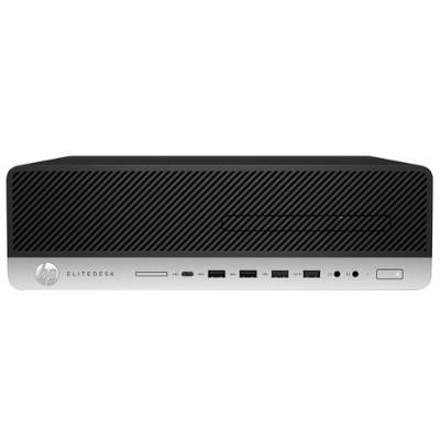 HP Inc. 1FZ02UT#ABA EliteDesk 800 G3 Intel Core i7-6700 Quad-Core 3.4 GHz Small form factor PC - 8GB RAM  256GB SSD  Slim SATA DVD-Writer  Gigabit Ethernet