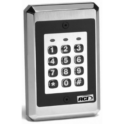 Rutherford Controls 9212ILWX32D 9212 Stand-Alone Keypad - Flush Mount  Illuminated  Interior or Exterior Use -  Stand-Alone Keypad for up to 120 users