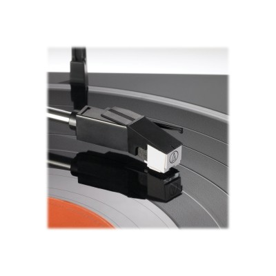 Audio - Technica AT-LP60BK-BT Fully Automatic Wireless Belt-Drive Stereo Turntable - Black