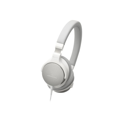 Audio - Technica ATH-SR5WH ATH-SR5WH - Headphones with mic - on-ear - 3.5 mm jack - white