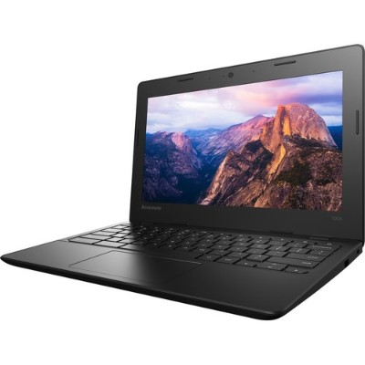 Lenovo 80QN0009US-RB 100S 80QN Intel Celeron N2840 Dual-Core 2.16GHz Chromebook - 2GB RAM  16GB eMMC  11.6 HD Display  802.11ac  Bluetooth  Webcam - Refurbished