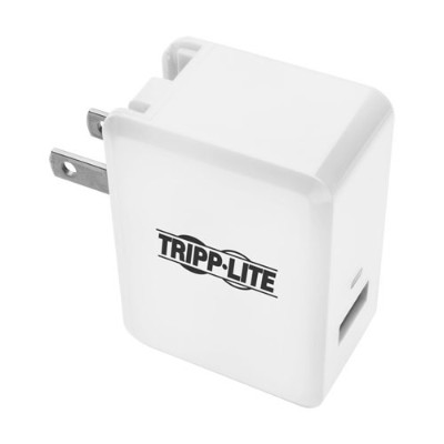 TrippLite U280-W01-QC3 1-Port Quick Charge 3.0 USB Wall/ Travel Charger  Autosensing