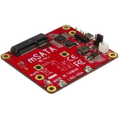 StarTech.com PIB2MS1 USB to mSATA Converter for Raspberry Pi and Development Boards