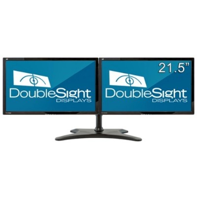 Doublesight DS-2200WB Dual 21.5 Monitor Bundle with Easy Stand