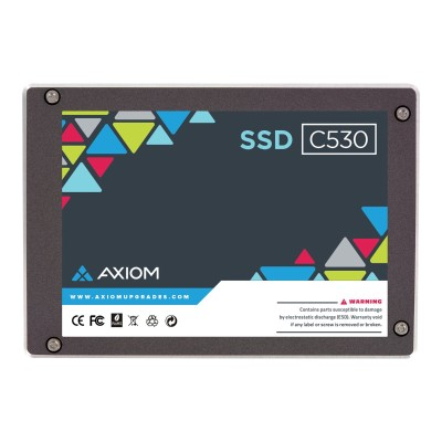 Axiom Memory APSSD256N480-AX C530N Series Mac Mobile - Solid state drive - 480 GB - internal - 2.5 - SATA 6Gb/s - buffer: 256 MB