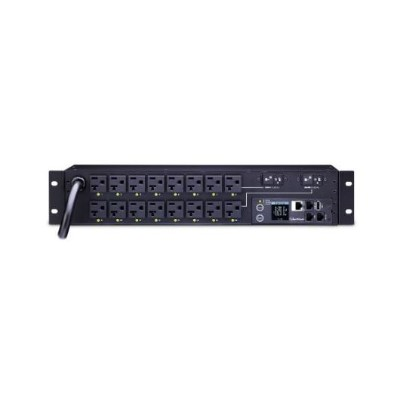 Cyberpower PDU81003 30A 120V Metered-by-Outlet Switched PDU 16 NEMA Outlets 12 Feet cord