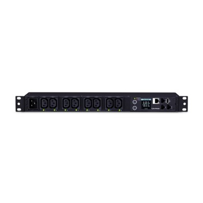 Cyberpower PDU81006 20A 208V Metered-by-Outlet Switched PDU 8 C13 Outlets 10 Feet cord