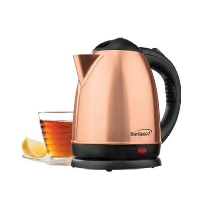Brentwood Appliances KT-1780RG CORDLESS ELEC KETTLE 1.5L ROSE