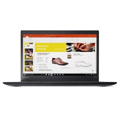Lenovo 20HF0012US ThinkPad T470s Intel Core i5-7300U Dual-Core 2.60GHz Notebook PC - 4GB Soldered + 4GB DIMM  256GB SSD  14 FHD IPS  Multi-touch  Wi-Fi  Bluetoo