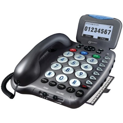 Geemarc AMPLI555 40dB Answering System with Talking Caller ID