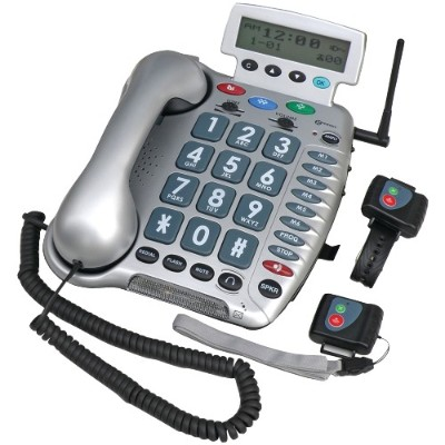 Geemarc AMPLI600 50dB Amplified Emergency Connect Phone
