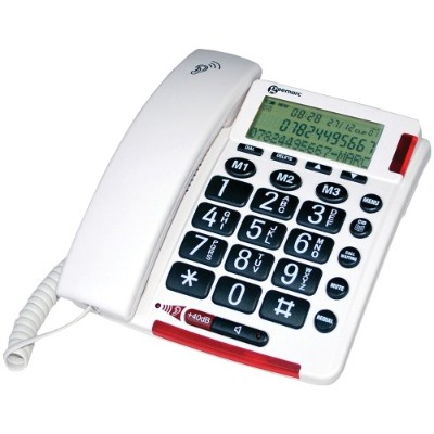 Geemarc AMPLIVOICE50 40dB Telephone with Talking Caller ID