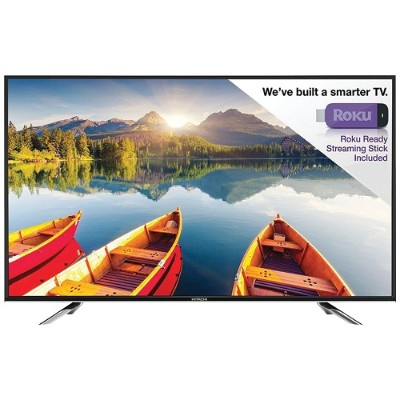 Hitachi LE43A6R9 43 Alpha Series LED 1080p HDTV with Roku Streaming