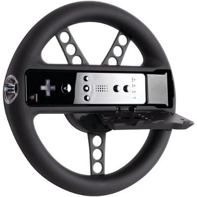 dreamGEAR DGWIIU-4328 Wii U & Wii Racing Wheel