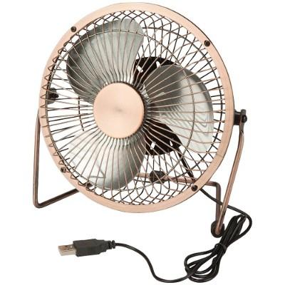 Honey-Can-Do OFC-04475 USB-Powered Desk Fan (Bronze)