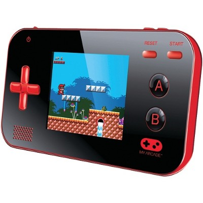dreamGEAR DGUN-2889 My Arcade Gamer V Portable Gaming System - Red/Black