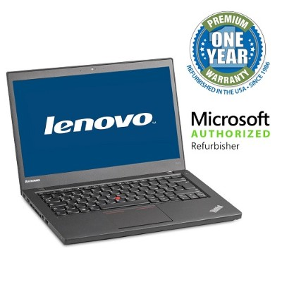 Lenovo MBIBMT440S-W10/1.9i5 ThinkPad T440S Intel Core i5-4300U Dual-Core 1.90GHz Notebook - 8GB RAM  240GB SSD  14 HD+ LED  Fast Ethernet  Intel  7260BN  Blueto