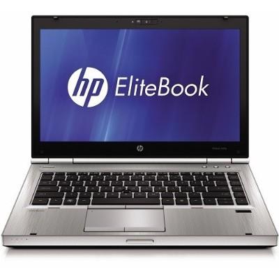 HP Inc. VSHP8460PS EliteBook 8460p Intel Core i5-2520M Dual-Core 2.50GHz Notebook - 4GB RAM  128GB SSD  14 HD LED  DVD-ROM  Gigabit Ethernet - Refurbished