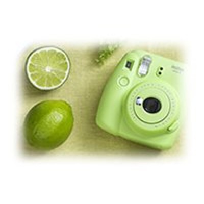 Fujifilm 16550655 Instax Mini 9 - Instant camera lime green