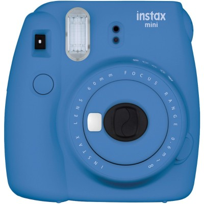Fujifilm 16550667 Instax Mini 9 - Instant camera - cobalt blue