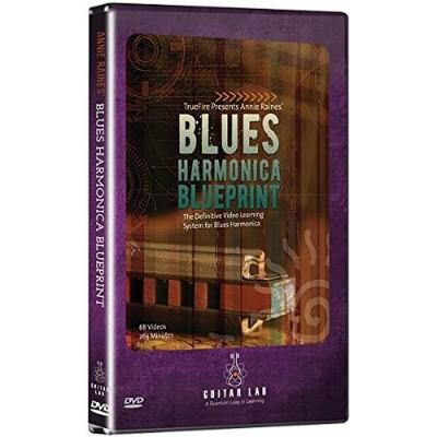 Emedia TF10141 Blues Harmonica Blueprint DVD