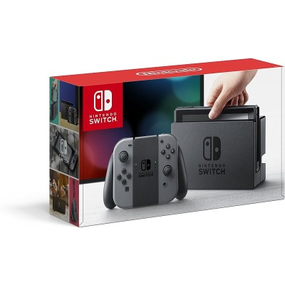 Nintendo HACSKAAAA Switch 32GB Console with Gray Joy-Con