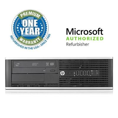 HP Inc. M-OLHP6200/3.1I58250 Pro 6200 SFF Desktop - Intel Core i5-2400 3.1GHz  8GB DDR3  250GB HDD  DVDROM  Windows 10 Pro  Microsoft Authorized Refurbished (Of