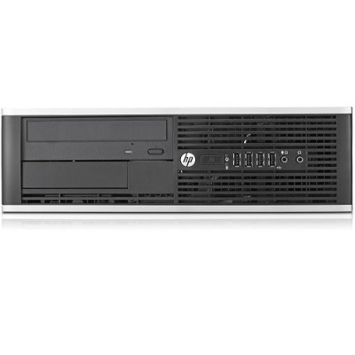 HP Inc. 16-HP-6200P-SFF-02 Compaq 6200 Pro Intel Core i5-2400 2nd Gen Quad-Core 3.10GHz Small Form Factor Desktop - 4GB RAM  500GB HDD - Refurbished