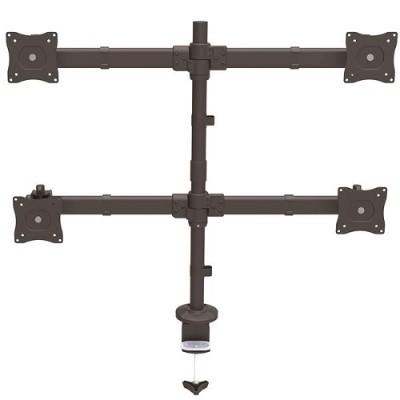 StarTech.com ARMQUAD Desk-Mount Quad-Monitor Arm - Articulating - Heavy Duty Steel
