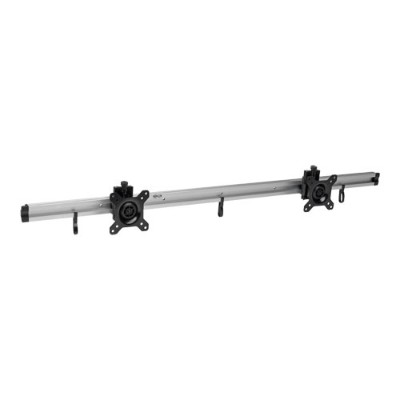 TrippLite DMR1024X2 Dual Flat-Panel Rail Wall Mount for 10 to 24 TVs and Monitors
