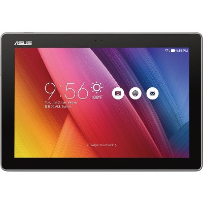ASUS Z300M-A2-GR-OB ZenPad 10  Z300M-A2 MediaTek MT8163 Quad-Core 1.30GHz Tablet - 2GB RAM  16GB Flash  10.1 LED IPS Touch  802.11 a/b/g/n  Bluetooth  Front and