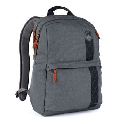 STM Bags STM-111-148P-20 BANKS 15 Laptop Backpack - Tornado Grey