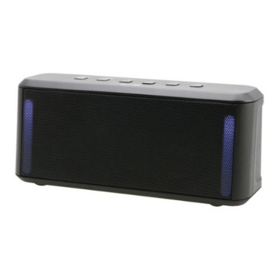 Digital Products International ISB224B Wireless Bluetooth Stereo Speaker with color changing lights