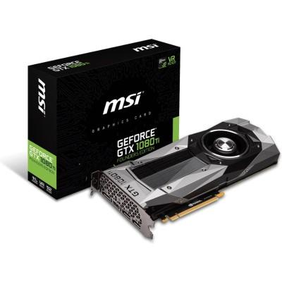 MSI G1080TFE NVIDIA GeForce GTX 1080 Ti Founders Edition 11GB GDDRX PCIe