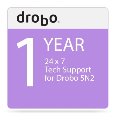Drobo DR-5N2-1S11 1-Year DroboCare Renewal Warranty for the Drobo 5N2