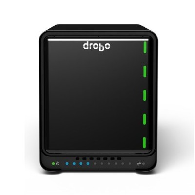 Drobo DRDS5A21-2TB 5N2 - 5 Bay Network Attached Storage (NAS) with 2TB Dual Gigabit Ethernet ports  2 x 1TB Hard Drives