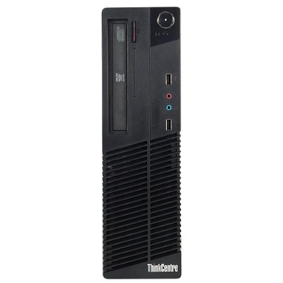 Lenovo RB-720089830144 ThinkCentre M82 Intel Core i5-3470 Quad-Core 3.20GHz  Small Form Factor Desktop - 4GB RAM  250GB HDD  DVD  Gigabit Ethernet - Refurbished