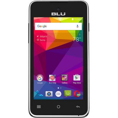 BLU Products A030U BLACK Advance 4.0 L2 A030U Unlocked GSM Phone - Black