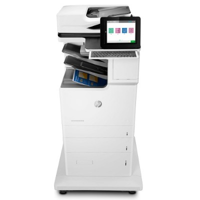 HP Inc. J8A17A#BGJ LaserJet Enterprise Flow M682z Multifunction Color Printer - Print  Copy  Scan  Fax  Up to 60 ppm (Black and Color)  1200x1200 dpi