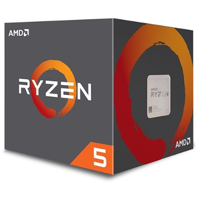 Advanced Micro Devices YD1400BBAEBOX Ryzen 5 1400 3.2 GHz Quad-Core AM4 Processor