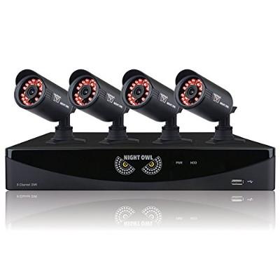 Night Owl Security Products F6-81-4624N-R F6-81-4624N 960H 8ch 4cam 650TVL 1TB - Refurbished
