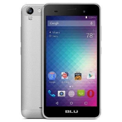 BLU Products D090U WHITE Dash M2 D090U Unlocked GSM Dual-SIM Quad-Core Phone - White