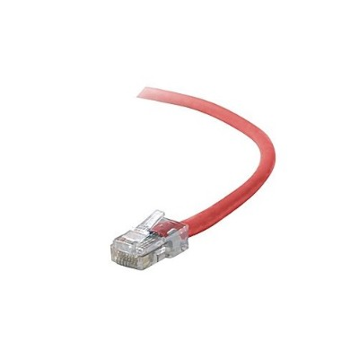 Belkin A3X126-06-RED 6ft CAT-5e RJ-45 Crossover Cable - Red