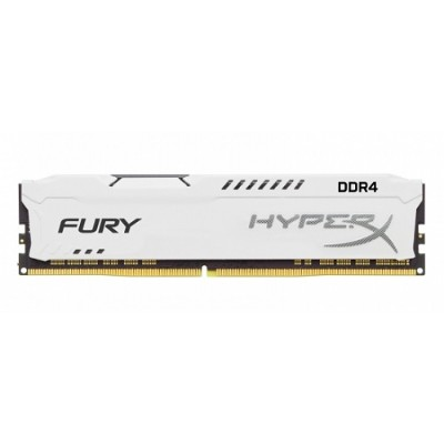 Kingston HX426C16FW2/8 8GB 2666MHz DDR4 CL16 DIMM 1Rx8 HyperX FURY White