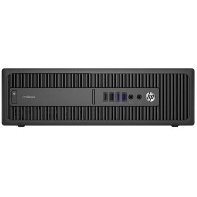 HP Inc. P3E23UT#ABA-OB ProDesk 600 G2 Intel Core i3-6100 Dual-Core 3.70GHz Small Form Factor PC - 4GB RAM  500GB HDD  Gigabit Ethernet  DVD SuperMulti  Windows