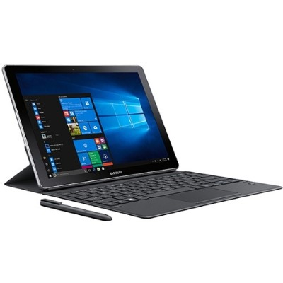 Samsung SM-W723NZKAXAR Galaxy Book 12 Intel Core i5 Dual-Core 2-in-1 Tablet PC - 8GB RAM + 256GB  12 FHD+ Super AMOLED Touch  802.11 a/b/g/n/ac  Bluetooth  Wi-F