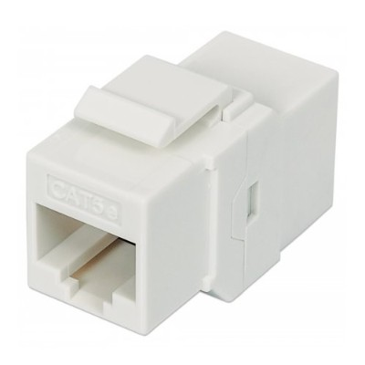 Intellinet Network Solutions 504935 Cat5e 8P8C Female Inline Coupler  Keystone Type - White
