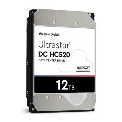 WD 0F30146 Ultrastar DC HC520 12TB SATA 7200rpm 256MB Buffer 3.5 Internal Hard Drive