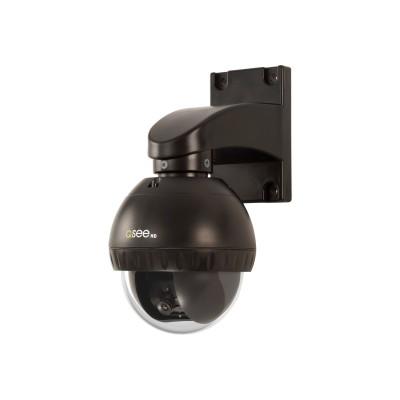 Q-See QTH7212P Q-See QTH7212P - CCTV camera - pan / tilt - outdoor - weatherproof - color - 720p - fixed focal - 700 TVL - composite - DC 12 V